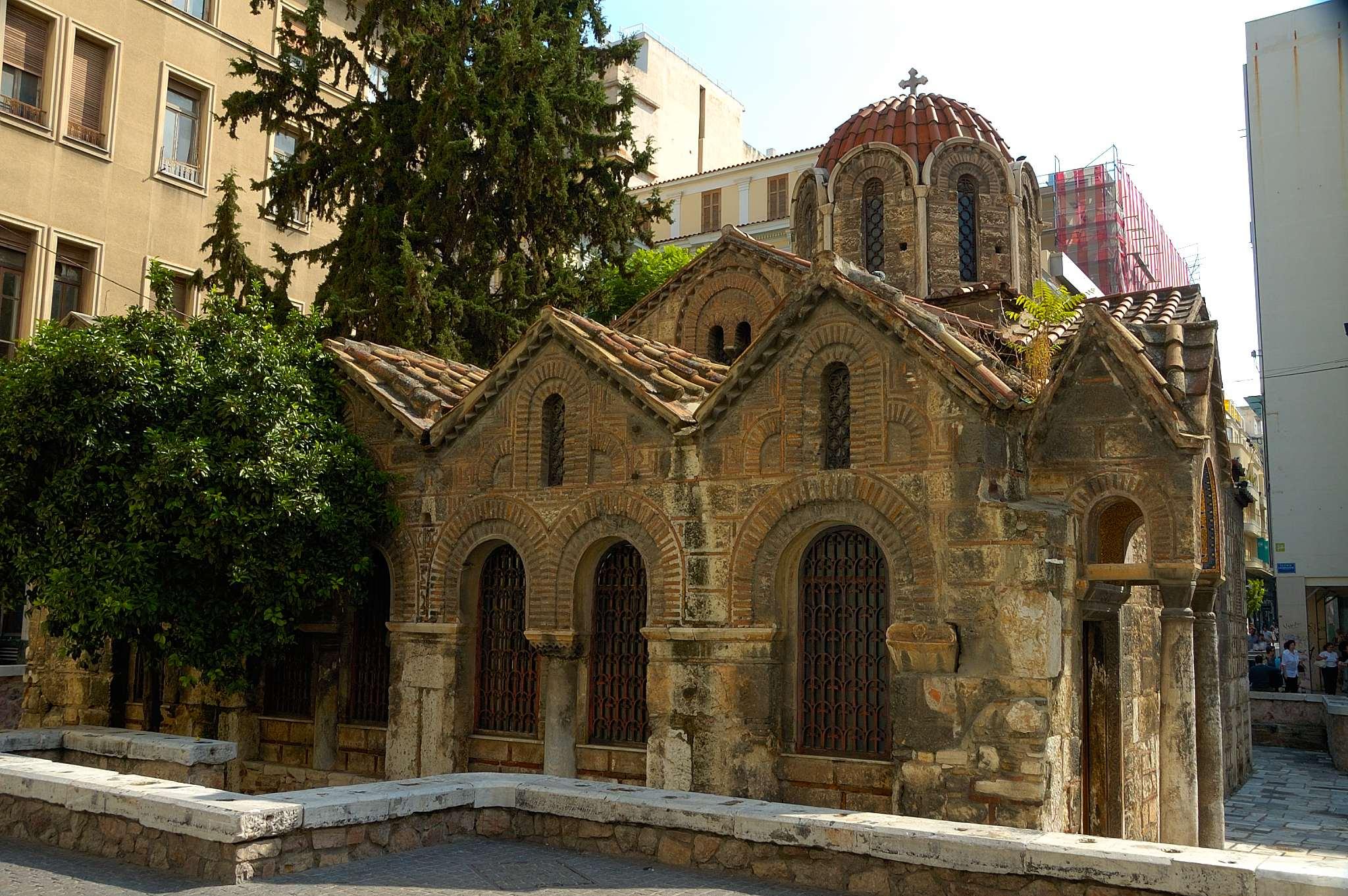 Virgin of Kapnikarea, Byzantine Athens, Greece