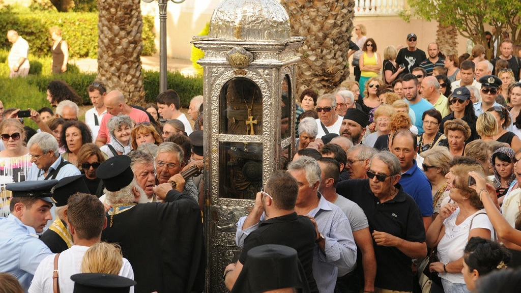 Litany of St. Gerasimos - Kefalonia, Omala