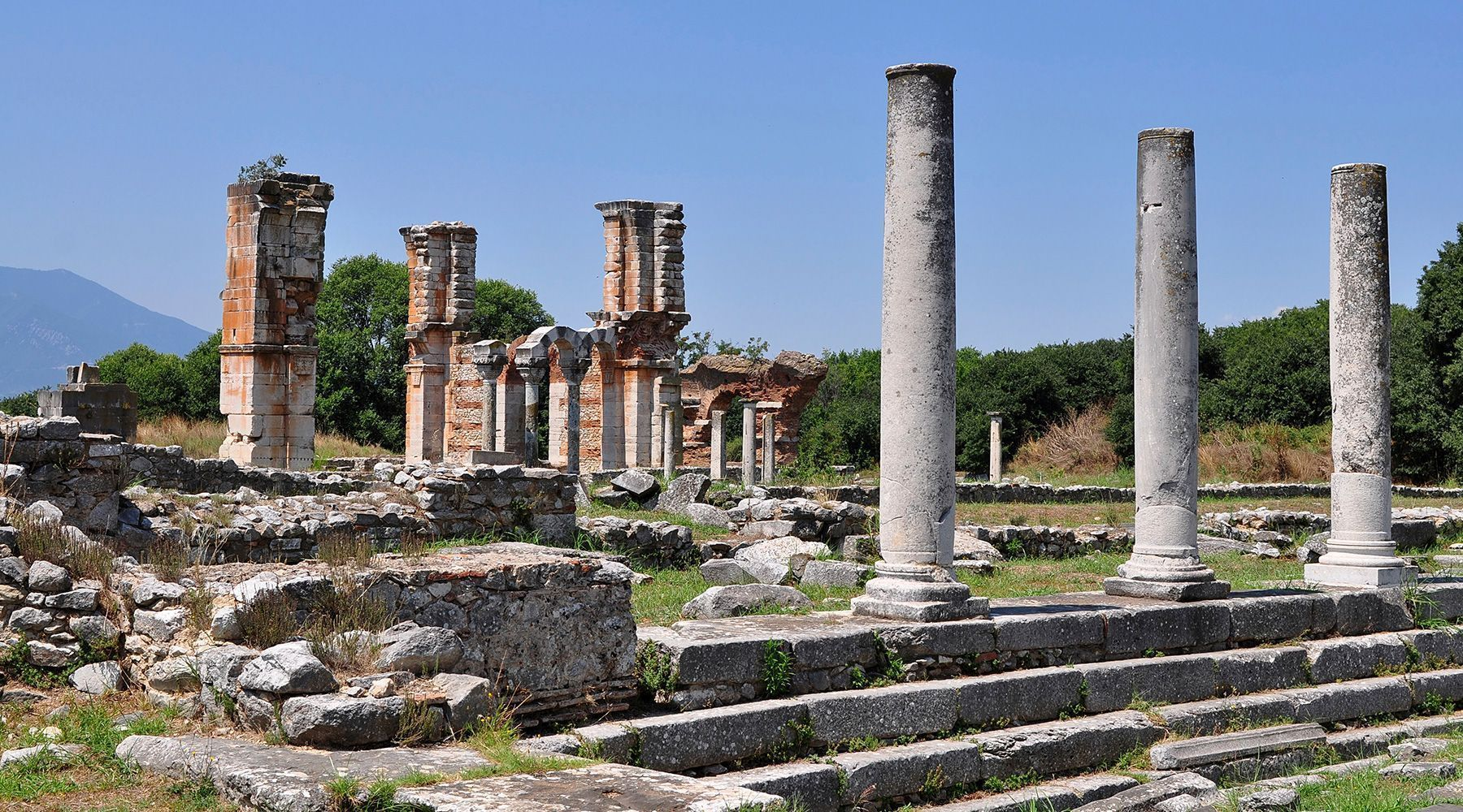 Archaeological Site of Philippi, Kavala, Greece