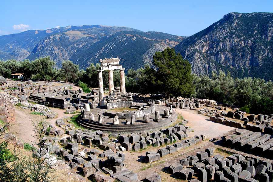 Delphi, Biblical Tour, Greece