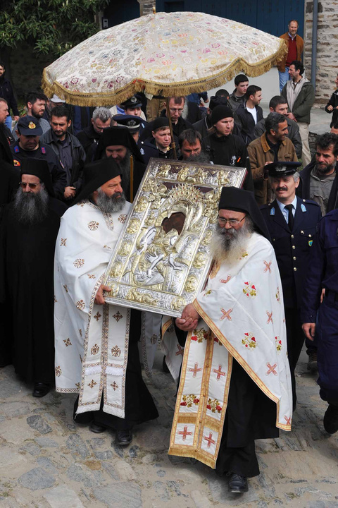 Easter on Mount Athos
