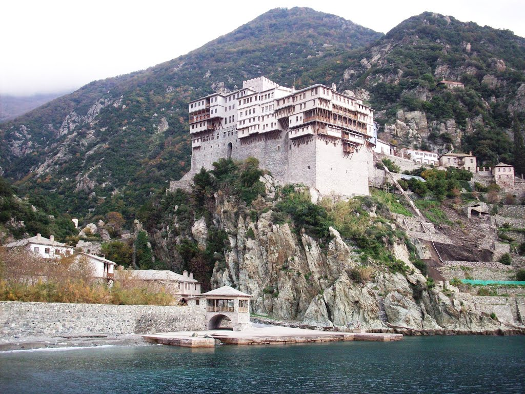 Dionysios Monastery, Mount Athos